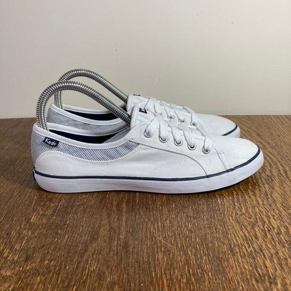 Keds Center Sneaker Women's Size 7.5 White/Blue